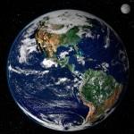 aarde vauit de ruimte