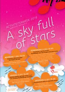 A  sky full of stars @ Aanvang bij het Bartoleshûs/ route door het dorp